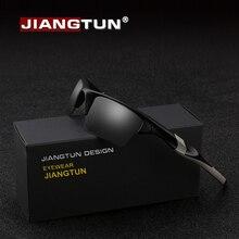 JIANGTUN высокое качество TR90 Поляризованные спортивные солнцезащитный очки Для мужчин Брендовая Дизайнерская обувь Прохладный для вождения, рыбной ловли, мужские солнцезащитные очки тёмные очки JT8708