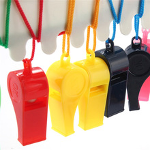 Hot Sale Whistle With Lanyard Soccer Basketball Football Training font b Cheerleading b font Whistle Outdoor