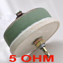 100W 5 OHM High Power Wirewound Potentiometer, Rheostat, Variable Resistor, 100 Watts.