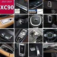 Для volvo xc90 модифицированные- XC90 интерьер центральный контроль воздуха на выходе Декоративные Наклейки интерьерные автомобильные аксессуары