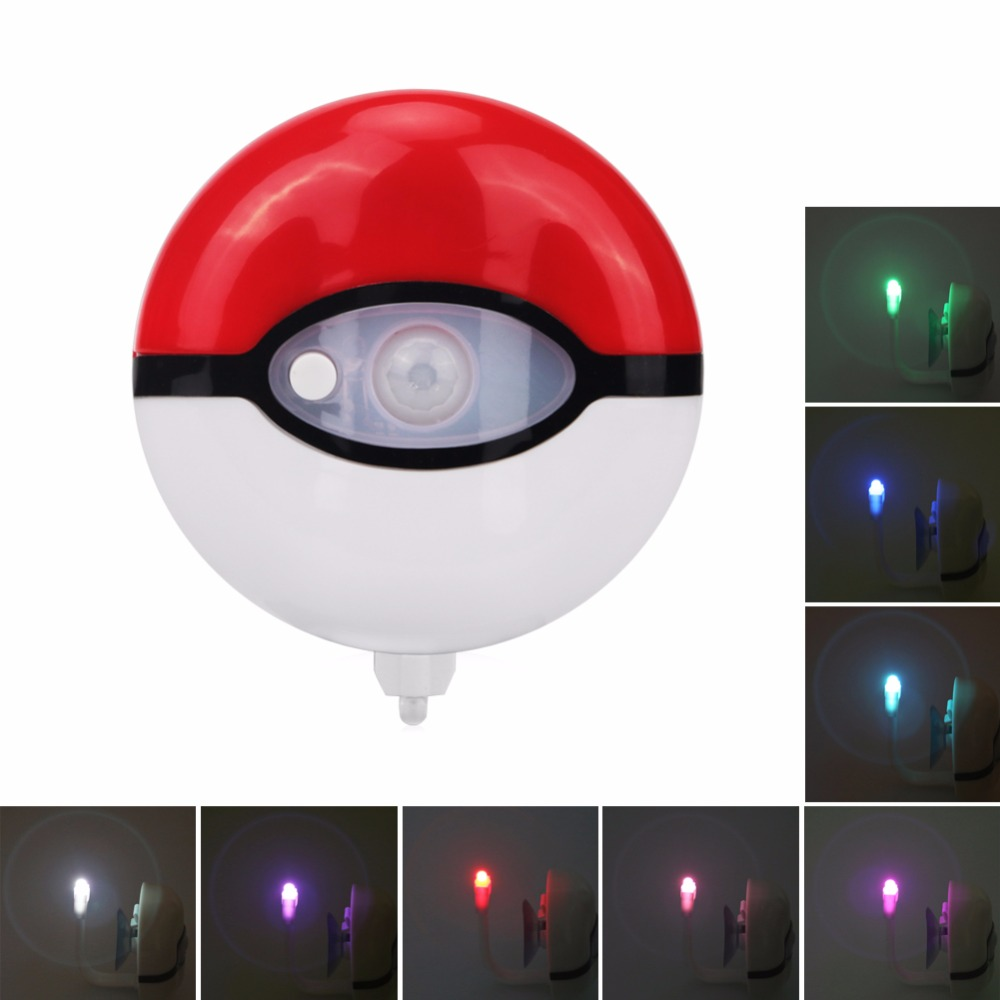 Led night light south africa - New Style 16 Colors Led Toilet Closestool Nightlight Motion Activated Light Sensor Battery Operated Night