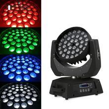 36 светодиодов подвижный светильник RGBW сценический свет 380 Вт DMX512 звук автоматического запуска Управление 16 Каналы для клуб бар DJ шоу домашняя вечерние KTV