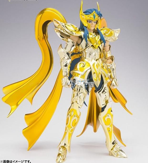 GT Great Toys model <font><b>Aquarius</b></font> Camus soul of god <font><b>Saint</b></font> <font><b>Seiya</b></font> metal armor <font><b>Cloth</b></font> <font><b>Myth</b></font> Gold Ex 2.0 action Figure image