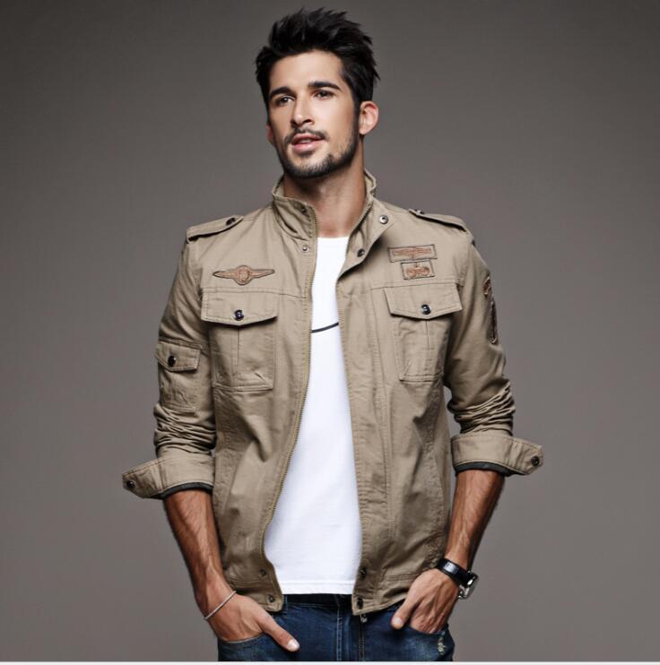 Tailleur Amour Automne Veste Hommes Coupe-Vent Réfléchissant Bomber - Vêtements pour hommes - Photo 2