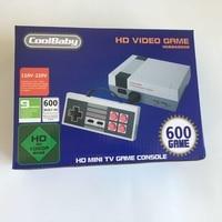 Coolbaby двойной геймпад управления HDMI Ретро Семья видео классический Ручные игры встроенный 600 игры мини ТВ игровой консоли 5 шт.