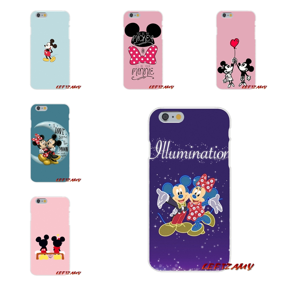 cute cartoon mickey minnie mouse For Motorola Moto G LG Spirit G2 G3 Mini G4 G5 K4 K7 K8 K10 V10 V20 V30 Cell Phone Shell Covers