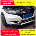 AUTO PRO for Honda HRV Car Styling LED Daytime Running for Honda HRV LED DRL 2014-2015 VEZEL DRL LED Automobiles fog lamps