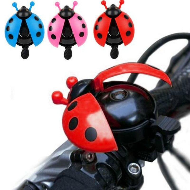 2X Kids Bike Bell MTB Mountain Bicycle Boys Girls Novelty Ladybird Bug Horn