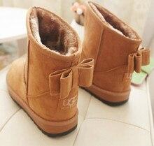 Ботильоны модные ботинки снег зимние сапоги женские женщин для