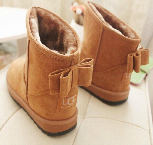 Botas de neve botas de tornozelo para as mulheres 2016 mulheres da moda botas botas de inverno sapatos mulheres
