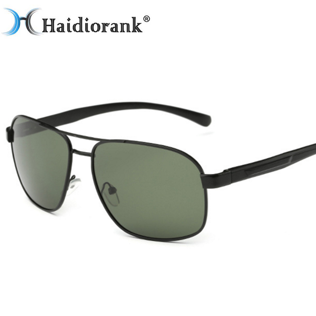 00a7b6ebb7 Fashion Classic Polarized Sunglasses Men Brand Designer HD Goggle Men s  Integrated Eyewear Sun glasses UV400 AP1704W005