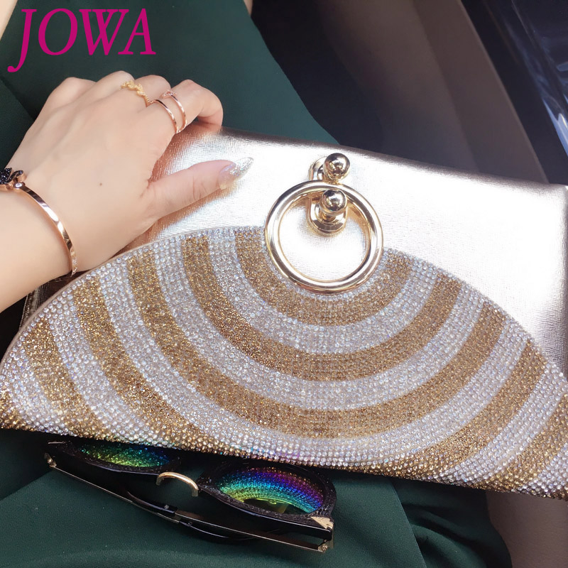 2017 Women's New Fashion Envelope Bags Shiny Diamond Day Clutches Casual Chains Shoulder Package Night Party Black Purse 2 Color женские пуховики куртки shiny day 2015 xxxl smtt011