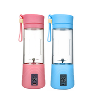 Portable Juicer Cup Rechargeable Battery Juice Blender 380ml USB Juicer New Fashion And High Quality Portable