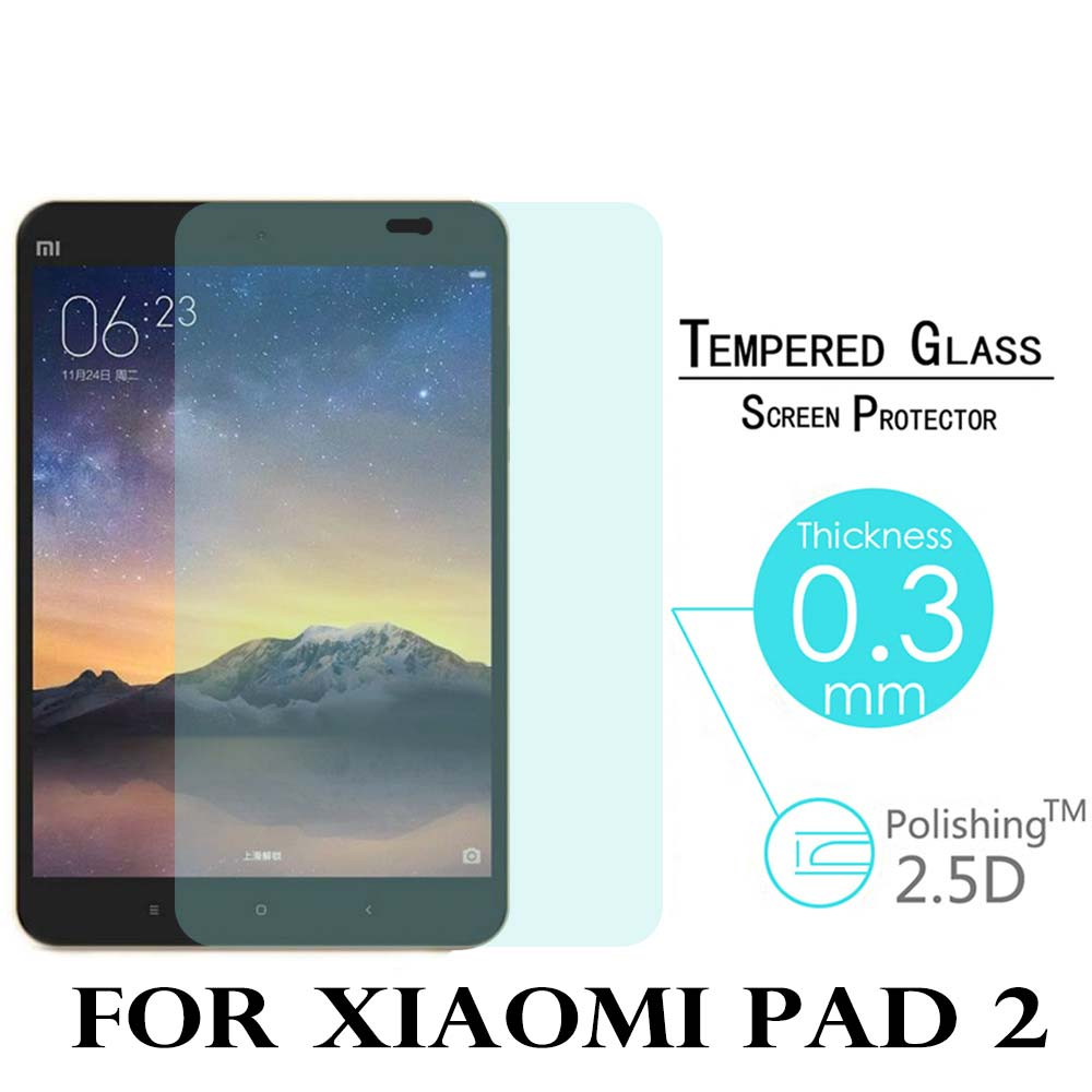9H 2.5D Tempered Glass Screen Protector Film For Xiaomi Mipad Mi Pad 2 7.9 inch tablet Anti-Shatter Glass Guard