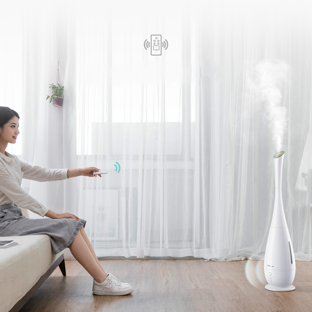air humidifier Smart bedroom Pregnant baby Automatic sterilization Purification of heavy fog Floor indoor Aromatherapy 6l floor standing humidifier silent bedroom pregnant women baby purification high capacity aromatherapy timing night light
