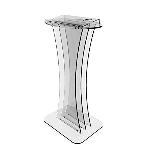 Clear Acrylic Lucite Podium Pulpit Lectern Plexiglass