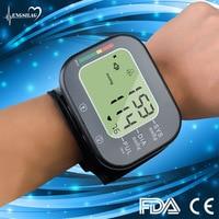 Rechargeable Wrist Blood Pressure Monitor Tensiometro Automatic Sphygmomanometer Blood Pressure Meter Digital Tonometer