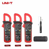 UNI T Digital Clamp Meter Multimeter UT202 UT202A UT201 AC DC Voltage AC Current Resistance Temperature Diode Data Hold Tester