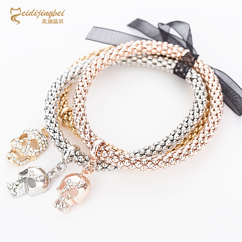 how to make a chain bracelet by hand