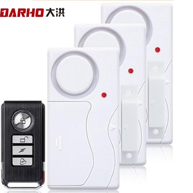 Darho Porte Fenêtre Entrée Sécurité Télécommande Sans Fil - Sécurité et protection - Photo 2