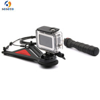 Bullet Time Shots Effect 360 degree Rotating Bracket Selfie Photography For Gopro Hero 5 6 Xiaomi Yi SJCAM Camera Accessories