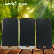 Регулируемый для Samsung Galaxy J1 J120 J120F J120M J120H ЖК-дисплей Дисплей Панель модуль монитор + Сенсорный экран Узел датчика Digitizer
