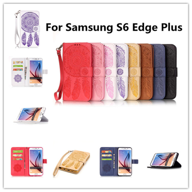 Flip Leather Phone Case Cover for Samsung Galaxy S6 S 6 Edge Plus G928 G928F G928A G928R4 G928C SM-G928 SM-G928F SM-G928C Bags