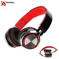 Original INGEL IP878 Gaming Headphones Super Bass Earphone Stereo Earphones Foldable Headset For Iphone 6s For