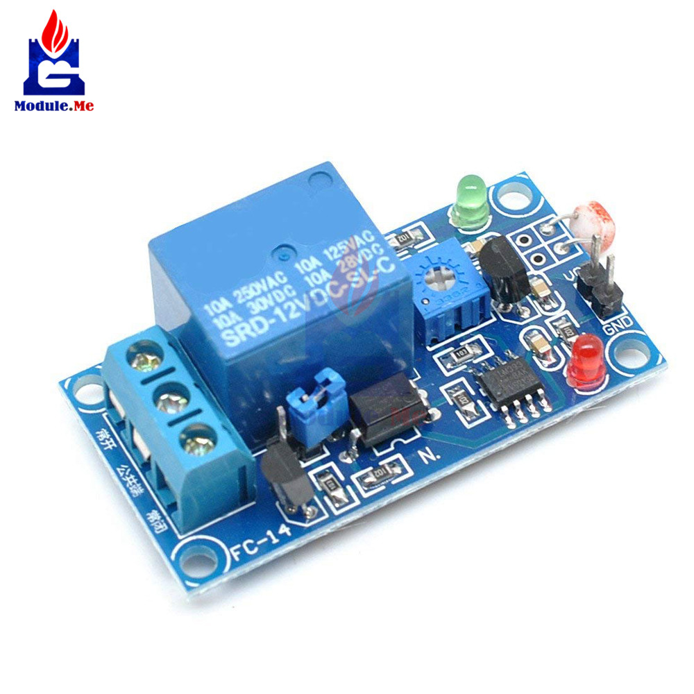 Detail Feedback Questions About Dc 5v 12v Light Photoswitch Relay Ldr Circuit Sensor Photoresistor Module Detection Photosensitive Board On