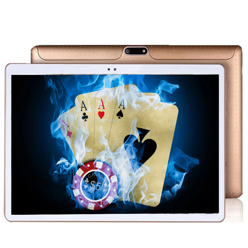 New 10.1-inch Android 7.0 Fashion Portable Smart Tablet Octa Core 32GB 64 128GB ROM Dual Cameras Dual SIM GPS WiFi Phone Tablet