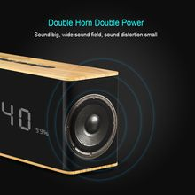Portable Wireless Speaker with LED Time Display
