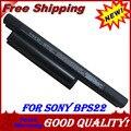 6 células bateria para Sony BPS22 VGP-BPS22 VGP-BPL22 VGP-BPS22 VGP-BPS22A / VAIO E 4400 MAH 11.1 V