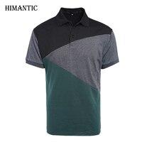 T Shirt Men Casual T Shirt Mens Short Sleeve Patchwork Tshirt Homme Camiseta Jersey Tee Tops