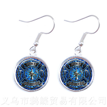Free-mason Earrings Free and Accepted Masons For Women Mocked The Birds Drop Earrings For Justice And Freedom image