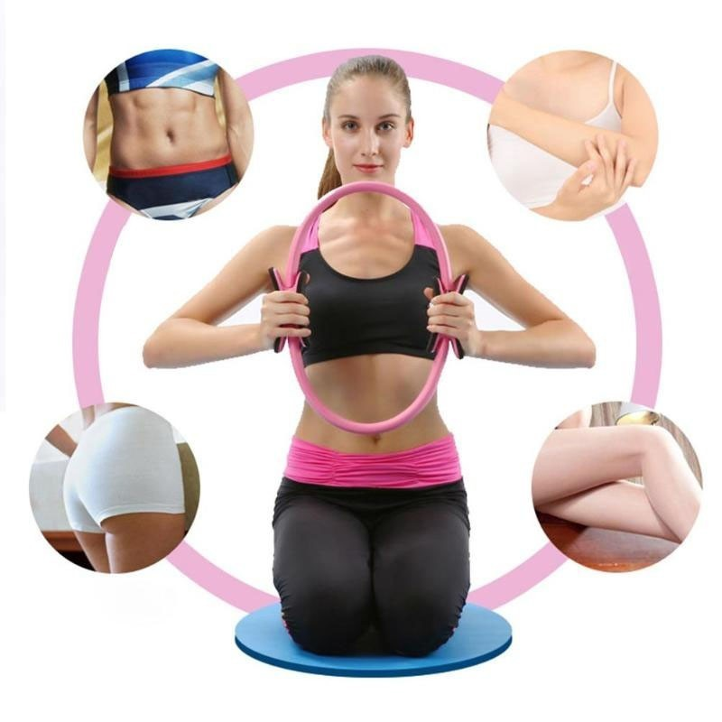 4Color Yoga Pilates Ring With High Density EVA Comfortable Material For Women Fitness 3