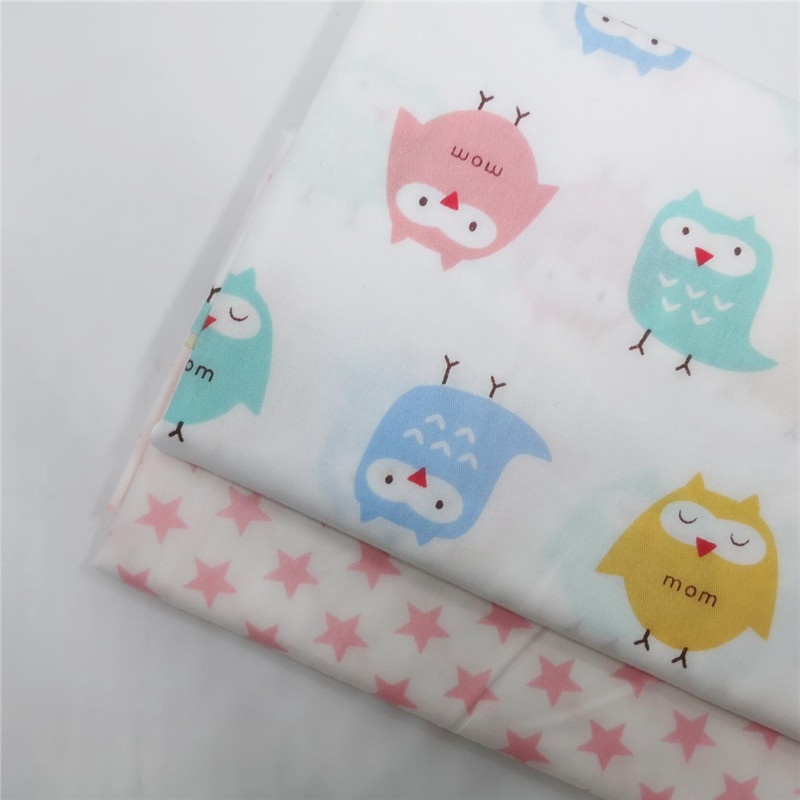 100% Cotton Fabric Printed Patchwork Cloth DIY Sewing Textile Pure Quilting By The Meter