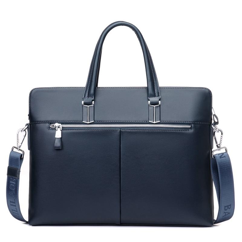 maleta de couro de negócios Formato : Mochilas