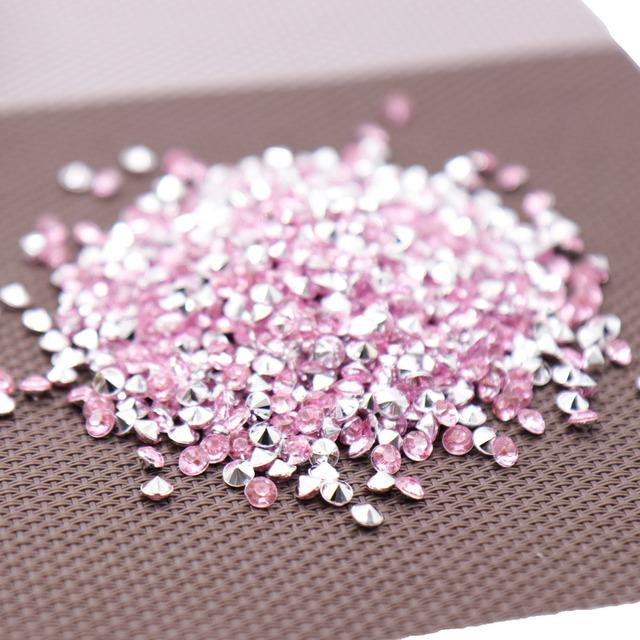 1000PS 4.2mm Acrylic Diamond Confetti Wedding Decoration Crafts Diamond Confetti Table Scatters Clear Crystal Centerpiece Party 5
