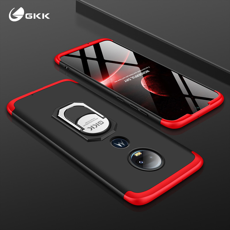 Case Cover Shell Shockproof Motorola Moto Full-Protective-Ring G5s-Plus For G7 Luxury