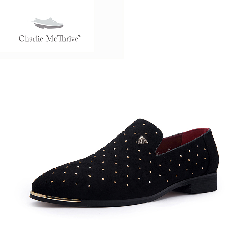 Men shoes casual spike plus size black navy suede leather penny loafers moccasins slip ons boat shoes smoking wedding dress shoe
