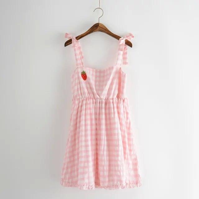style strapless dress cotton