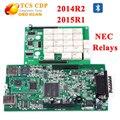 Tcs cdp Прекрасно работает для БМ-w E90 E60 2014 R2 или 2015 R1 NEC Реле с Bluetooth TCS CDP НОВЫЙ VCI TCS CDP Диагностический 3 В 1