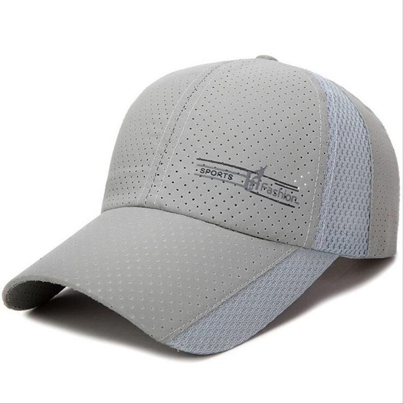 2018 New Summer gorras snapbacks   Baseball     Cap   Men Breathable Quick-Drying Mesh Hats Women Sunshade   Caps