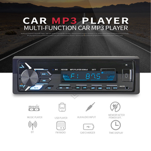 Image 2 - 多機能 Bluetooth 車両 MP3 プレーヤー lcd ディスプレイ Mp3 ワイヤレスレシーバーカー FM ラジオ 3.5 ミリメートル AUX オーディオアダプタカーキット