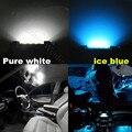 19 pcs Pure White Canbus Dome Tronco Lâmpada de Iluminação LED Da Zona Dos Pés Carro Kit Interior Luz para BMW Série 5 F10 2010 + 528i 535i 550i M5