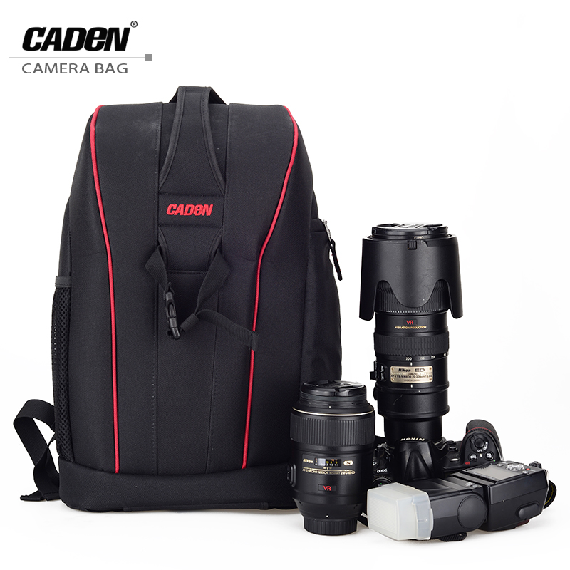 CADeN Professional DSLR Camera Backpacks Video Photo Digital Camera Bag Case Waterproof Travel Backpack Bags For Dslr Sony K6K7 цена 2017