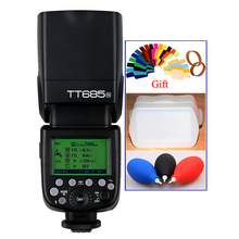 Godox tt685 tt685n i-ttl 2.4g wireless high-speed sync flash gn60 1/8000 s Camera Speedlite for Nikon DSLR Room цена и фото