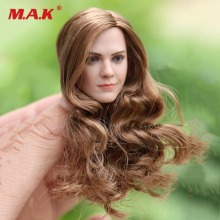 цена на 1/6 Scale W Long Curls Hair Emma Watson Head Sculpt for 12 inches Femal Body