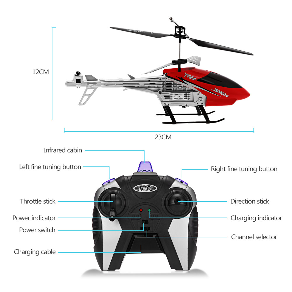 TY909T Omni-directional Remote Flight 4