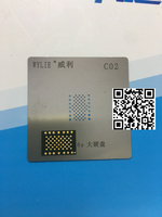 1 satz/los 1 stücke für iphone 6 s plus 6sP 16 GB HDD speicher nand flash mit 1 stücke BGA reballing reball schablone|lot|lot lotlot iphone -